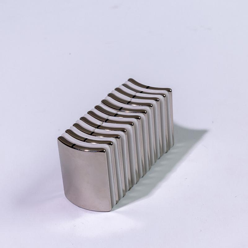 Customized curved arc neodymium magnets
