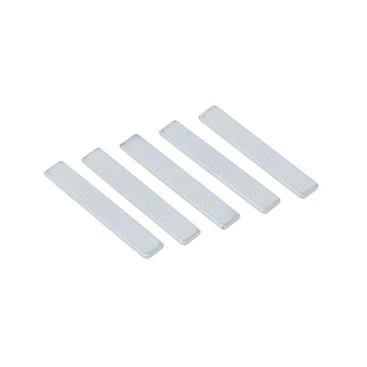 N52 Zn-Coated Thin Block ndfeb Magnet F50*8*2