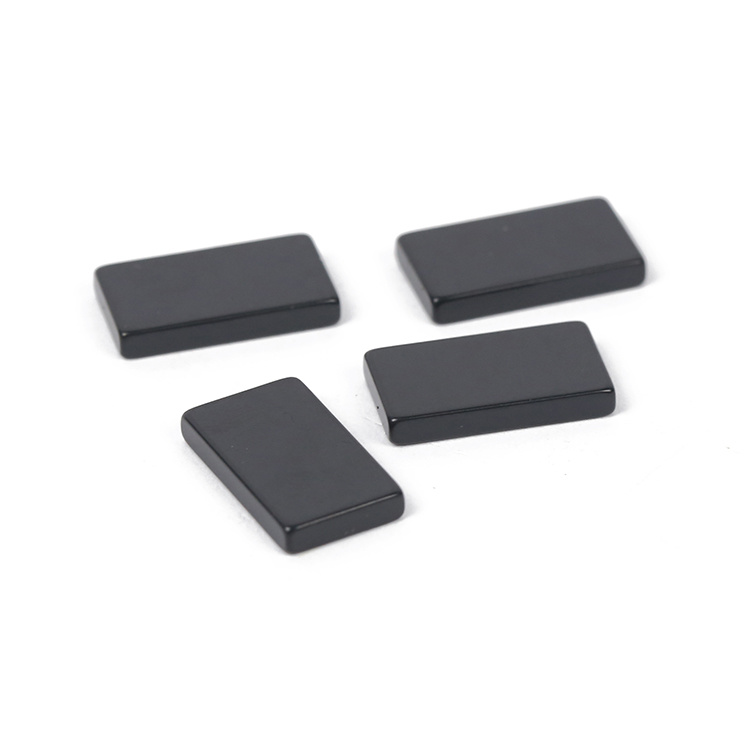 High Working Temperature Black Epoxy Coated N48SH Neodymium Block Magnet