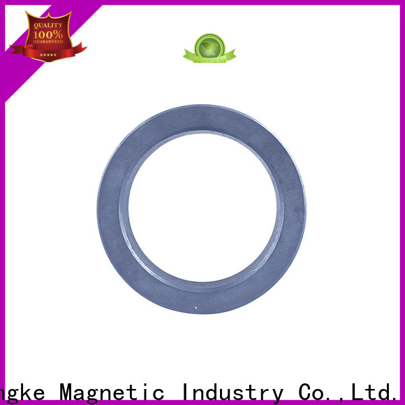 Zhongke ferrite ring magnet strong anti-magnetizing ability fast delivery